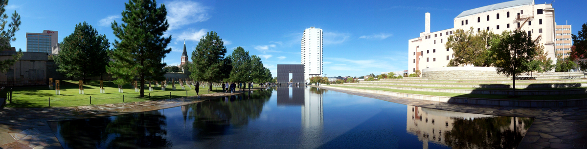 Oklahoma City Memorial Reflecting Pool and Grounds