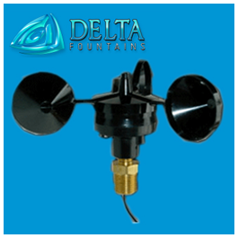 3 cup anemometer