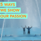 5 Ways We Show Our Passion For Fountains