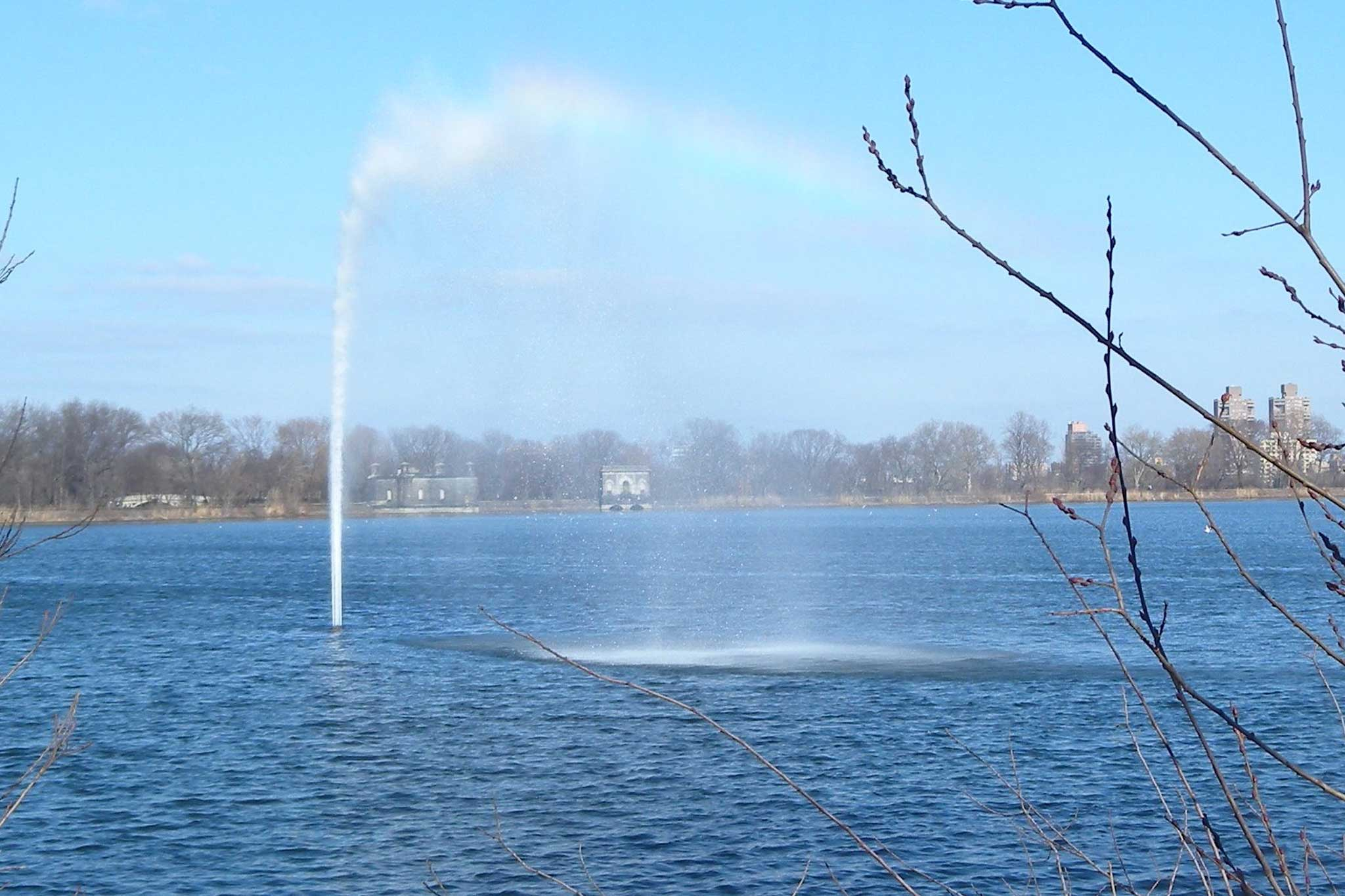 Jacqueline Kennedy Onassis Reservoir Fountain Delta Fountains