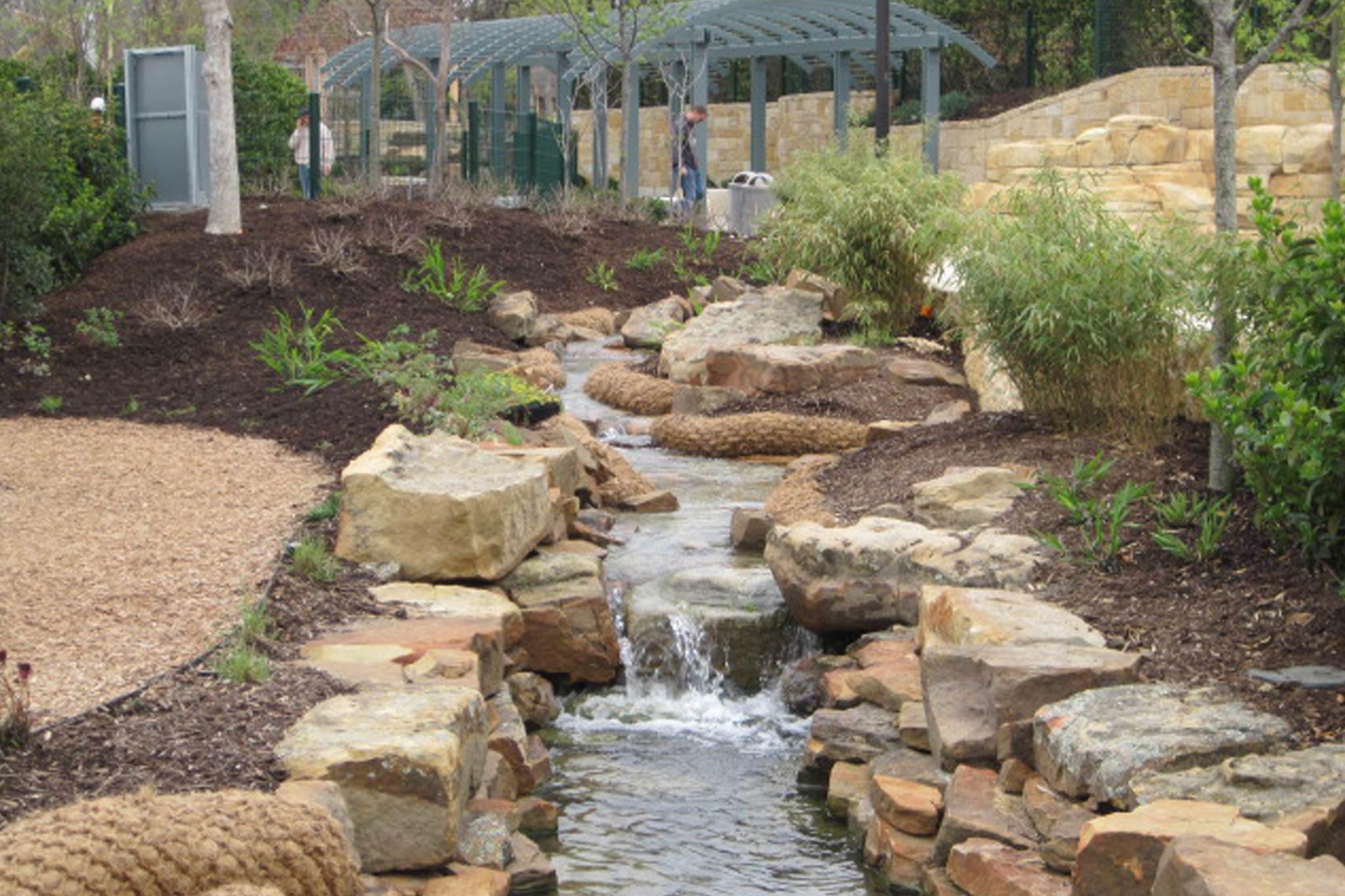 Dallas Arboretum And Botanical Gardens Delta Fountains