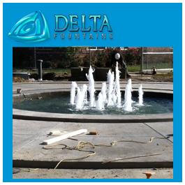 Bubbler Jet Fountain