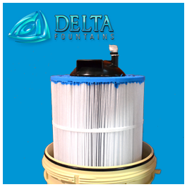 Fountain Cartridge Filter Element