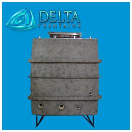 Clam Shell Fiberglass Vault