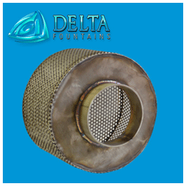 Custom Intake Drain Screen Delta Fountains