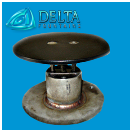 Stainless Steel Floor Inlet Fitting | Delta Fountains
