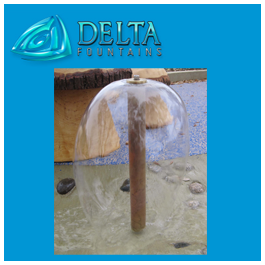 Splash Park Umbrella Jet Water Effect