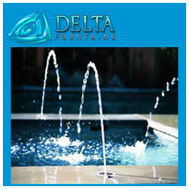 Deck Jet Nozzle Delta Fountains