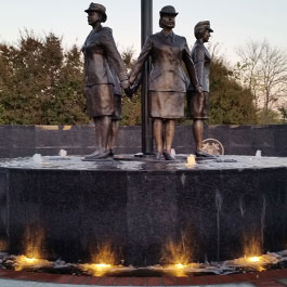 Del City  Veterans Women Memorial