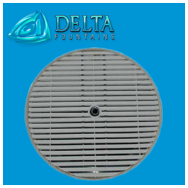 Delta Fountain Manufacturer Metal Round Grate