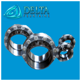 Stainless Steel Mated Flanges for Waterstop | Delta Fountains