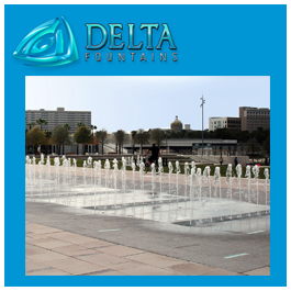 Delta Fountains Aerating Foam Jet Nozzle