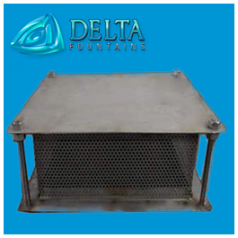 Delta Fountains Anti-Vortex Plate Stainless Steel Manufactured