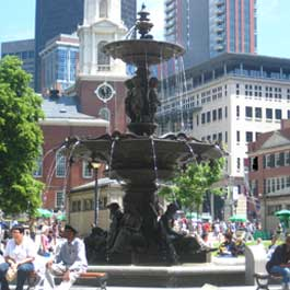 Brewer Fountain Restoration