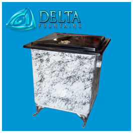 Delta Fountains Chemical Tank Fiberglass