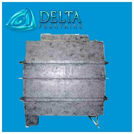 Delta Fountains | Clam Shell Subterranean Vault