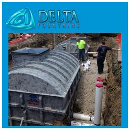 Subterranean Collector Tank Install