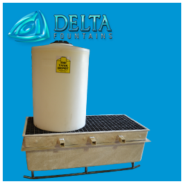 Custom Chemical Containment Sump Crock | Delta Fountains