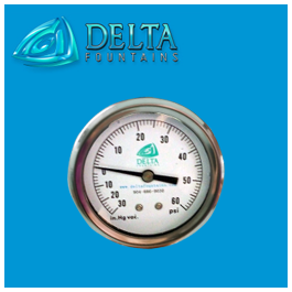 Delta Fountains Custom Gage Water Pressure Sensors