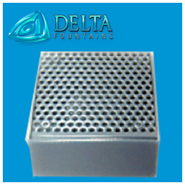 Delta Fountains Custom Gravity Drain Fitting
