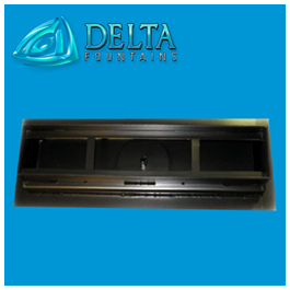 Delta Fountains Custom Gravity Drain Trough