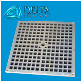 Delta Fountains Custom anufactured Grate