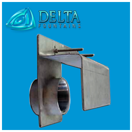 Delta Fountains Custom Suction Fittings