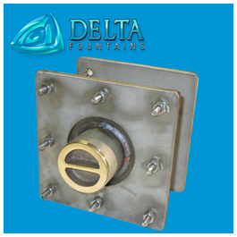 Delta Fountains Custom Vacuum Fitting