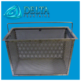 Stainless Steel Debris Basket | Delta Fountains
