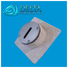 Delta Fountains Deck Jet Nozzle