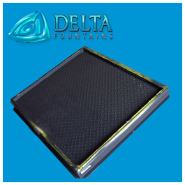 Delta Fountains Diamond Plate Hatch for Vaults