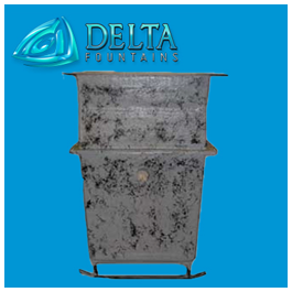 Delta Fountains Fiberglass Chemical Containment Tank