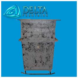 Delta Fountains Fiberglass Chemical Containment Tank