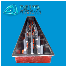 Delta Fountains Fiberglass Trough