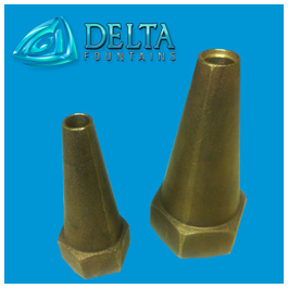 Delta Fountains Fixed Smooth Bore Nozzle