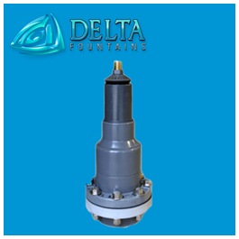 Flanged Vari-Jet Nozzle | Delta Fountains