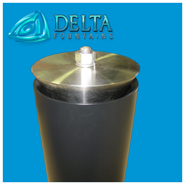 Delta Fountains Flanged Vari Jet Nozzle