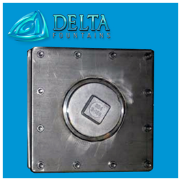 Delta Fountains Floor Drain Fitting Stainless Steel