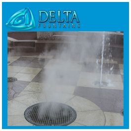 Delta Fountains Fog Display