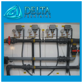 Delta Fountains Vault Gauge Panels
