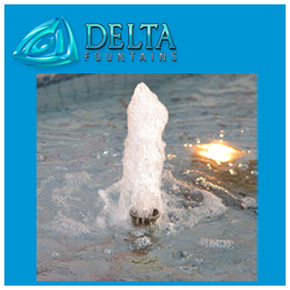 Delta Fountains Geyser Nozzle at The Avenues Mall