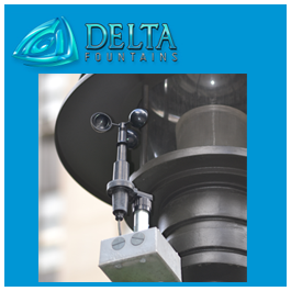 Delta Fountains Hidden Mounted Anemometer