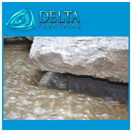Hidden Non-Linear Trough | Delta Fountains