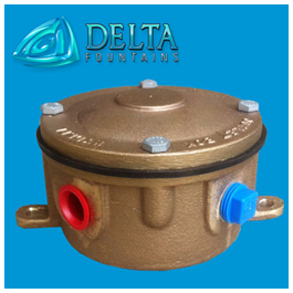 Delta Fountains Junction Box Round