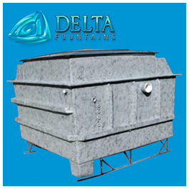 Delta Fountains Low Profile Vault