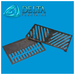 Delta Fountains Metal Custom Fountain Sump Grate