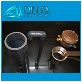 Delta Fountains Remote Combination Overflow