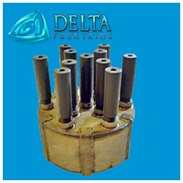 Delta Fountains Pod Jet Nozzle Assembly