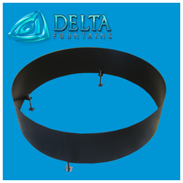 Delta Fountains Round Baffle Wave Suppression