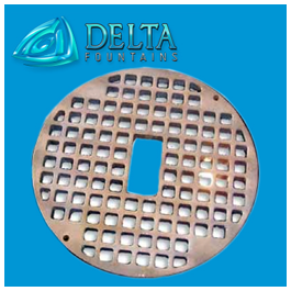 Delta Fountains Round Grate